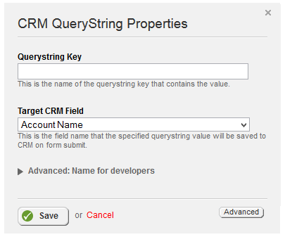 Query String Properties