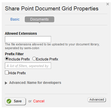 SharePoint Documents Properties