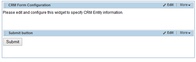 Form Configuration Editor