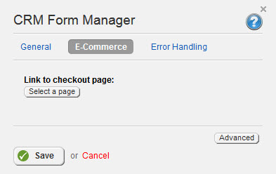 CRM Form Manager ECommerce 3.2