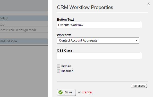 Workflow Widget