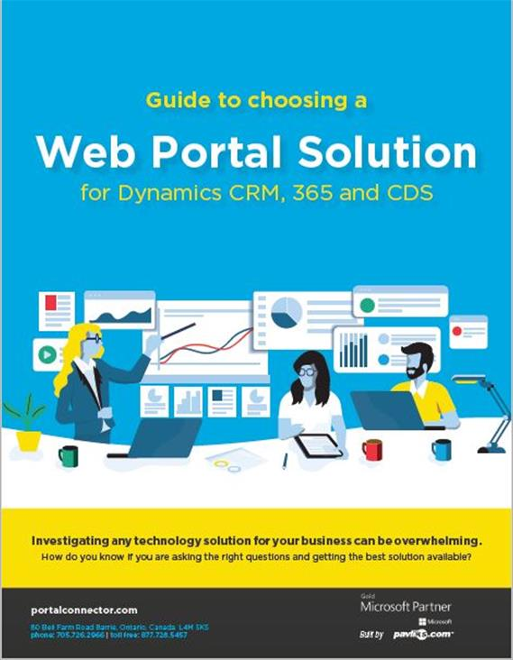 Guide to choosing a web portal front cover