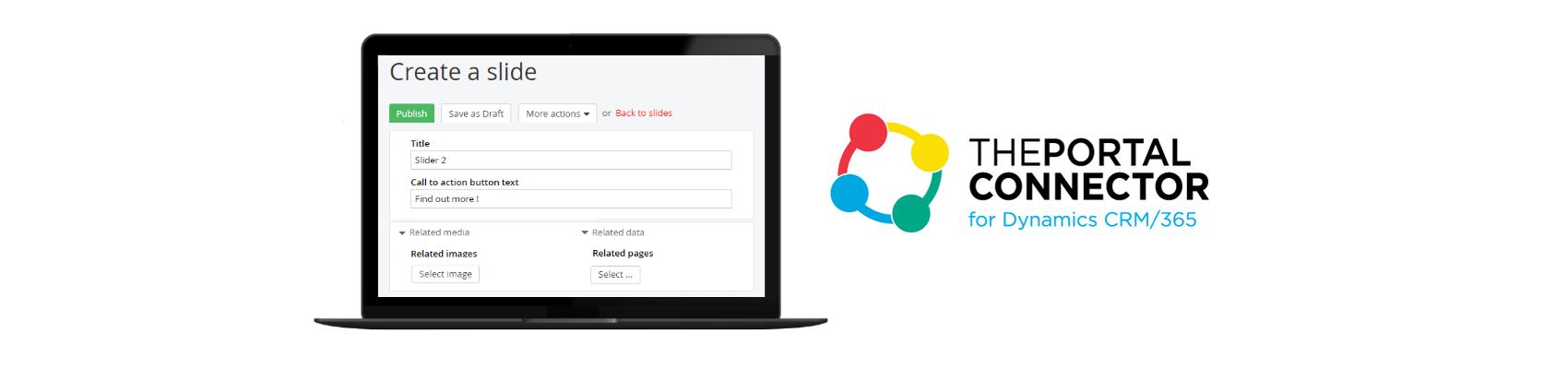 Interactive Widget for Portal Site