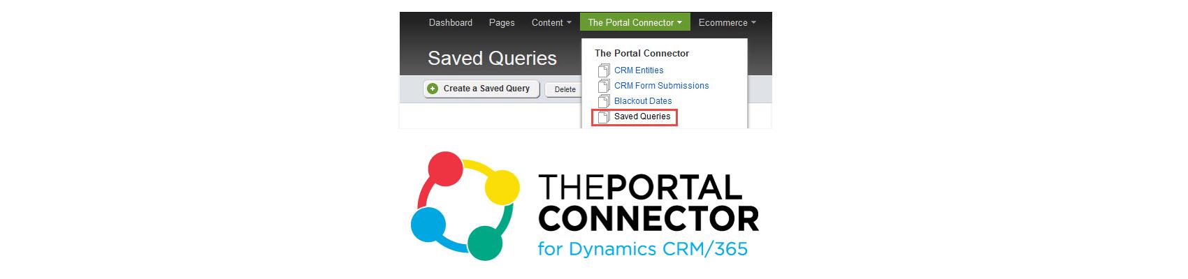 Portal Connector Saved Queries