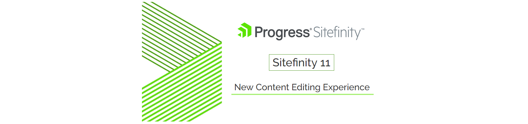 Sitefinity 11 New Content Editing Experience