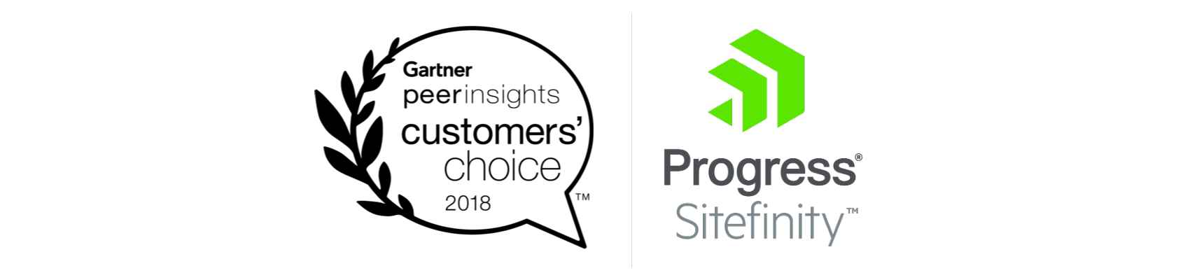 Sitefinity Gartner Peer Insights