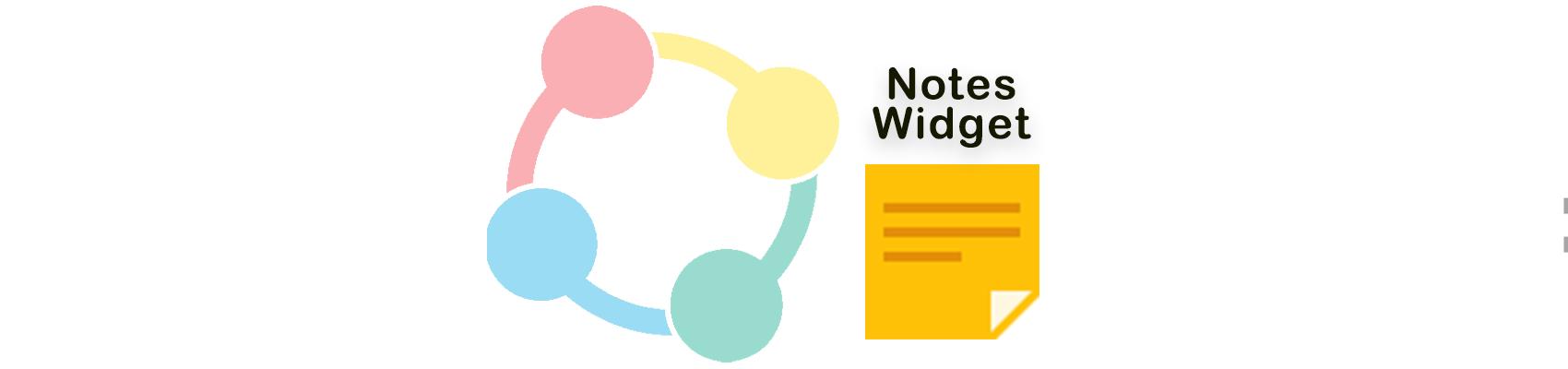 TPC Notes Widget