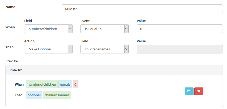 MVC Rules Manager - Conditionally set fields to be required/optional